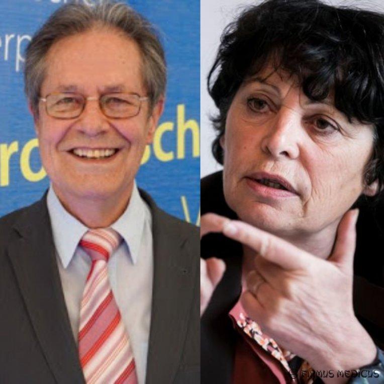 Klaus Buchner ir Michele Rivasi