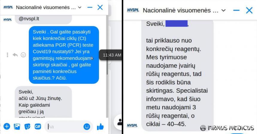 Žmonių testavimo dėl koronaviruso praktika Lietuvoje