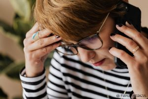 Galvos skausmas - galimas per didelės spinduliuotės ženklas
