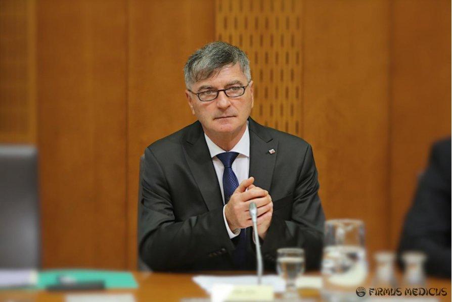 Slovėnijos ministras Rudi Medved