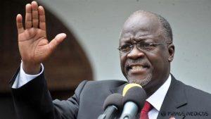 Tanzanijos prezidentas: COVID-19 testas buvo teigiamas vaisiui ir ožkai