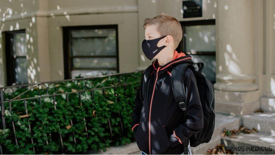 Kaukės dėvėjimas mokykloje